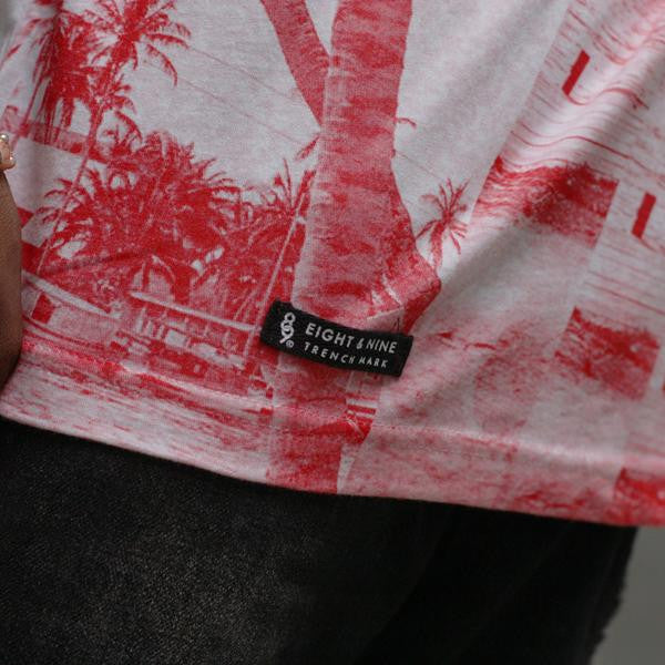 The river t shirt red tag