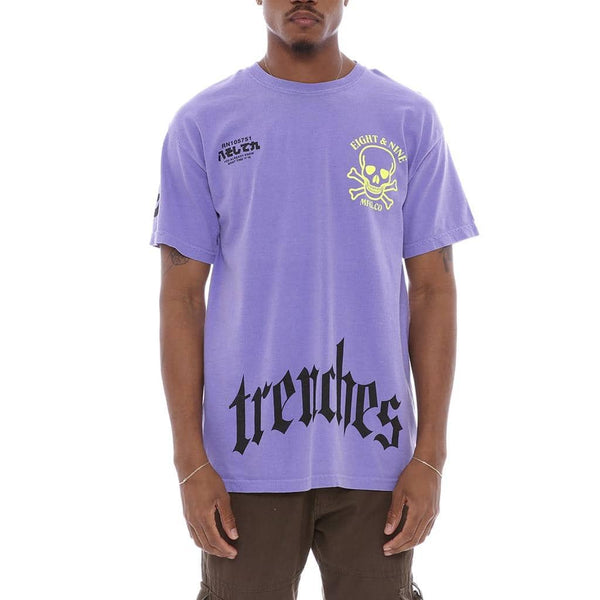 Time T Shirt Purple