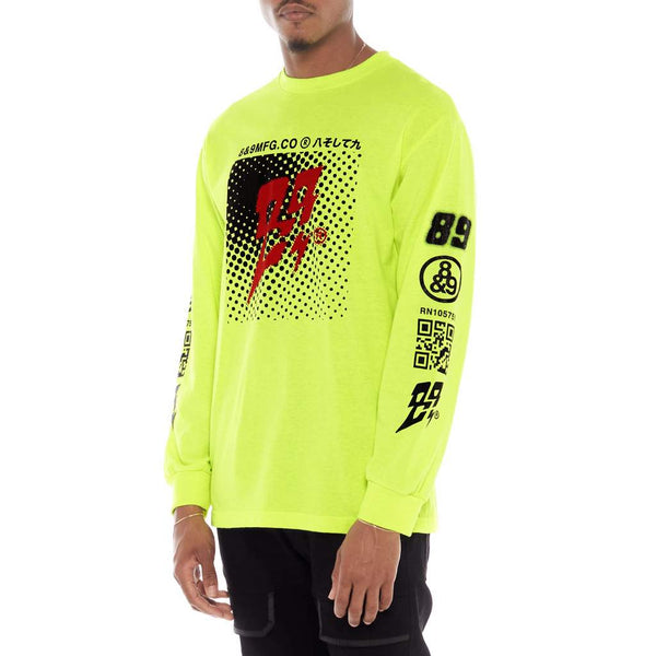 Tones Long Sleeve Tee Volt