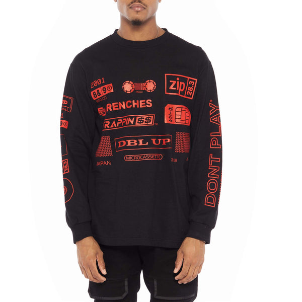 Trappin Long Sleeve Tee Bred