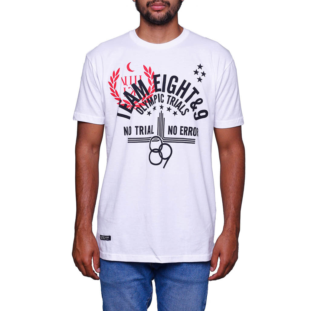 Trials T Shirt Fire Red
