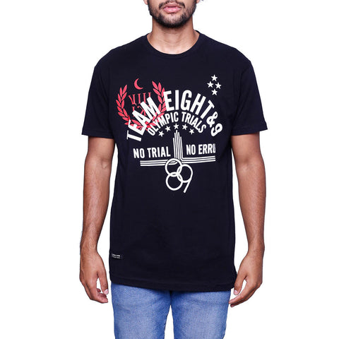 Trials T Shirt Black