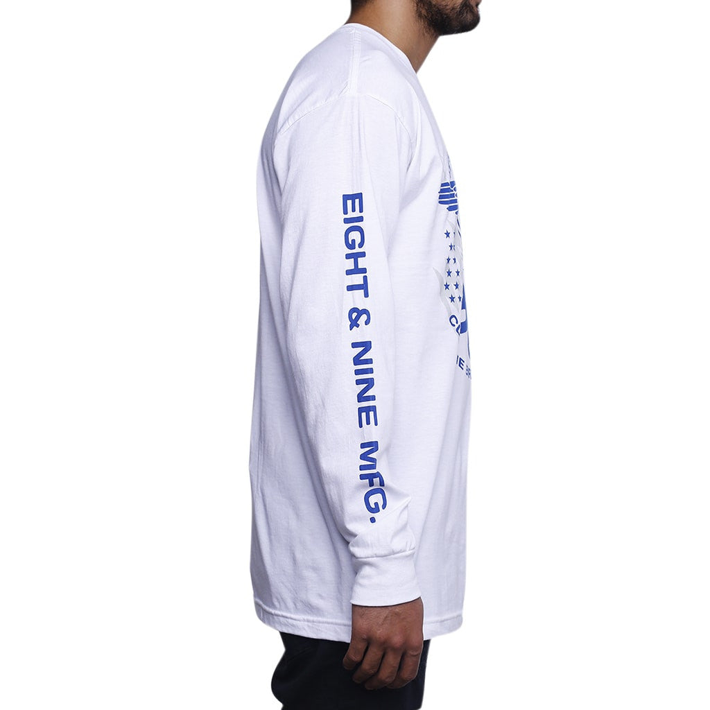 True Blue Shirt Winter Long Sleeve Tee L/S