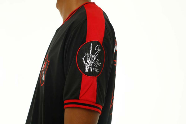 Tuesday Soccer Jersey Black