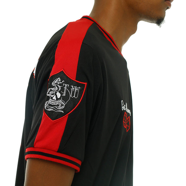 5db2fa92664 Tuesday Soccer Jersey Black | 8&9 Clothing Co.