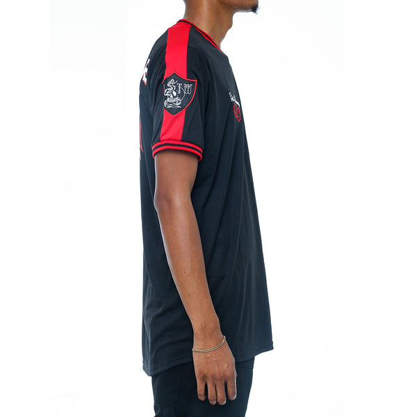 Tuesday Soccer Jersey Black right