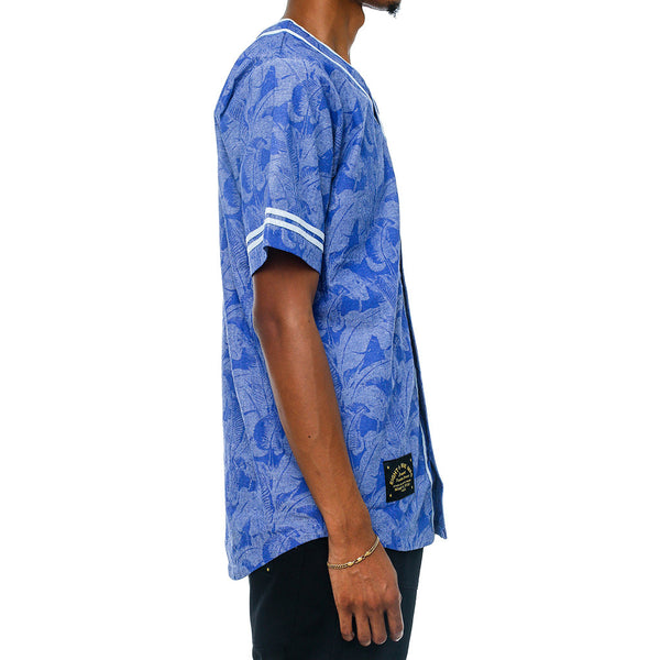 Vacation Mesh Baseball Jersey French Blue