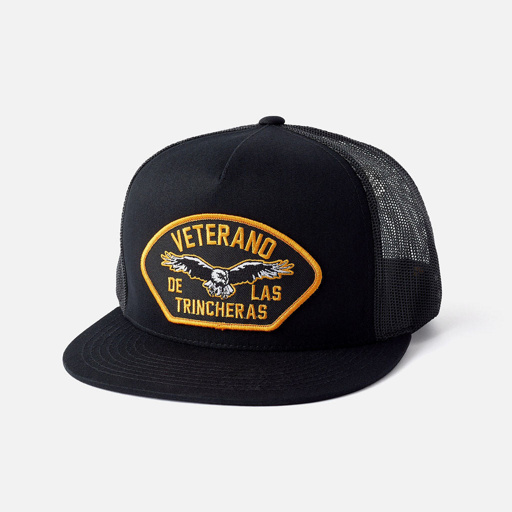 Veterano Trucker Hat Black