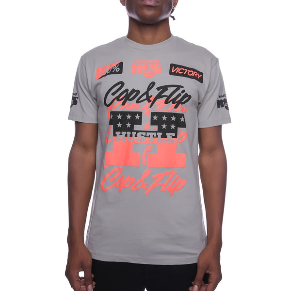 Victory Pit Crew T Shirt Infrared