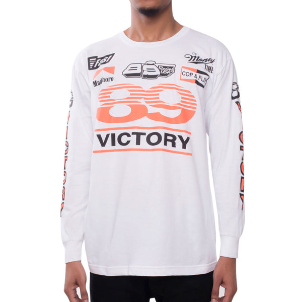 Victory Racing Tee Infrared Long Sleeve