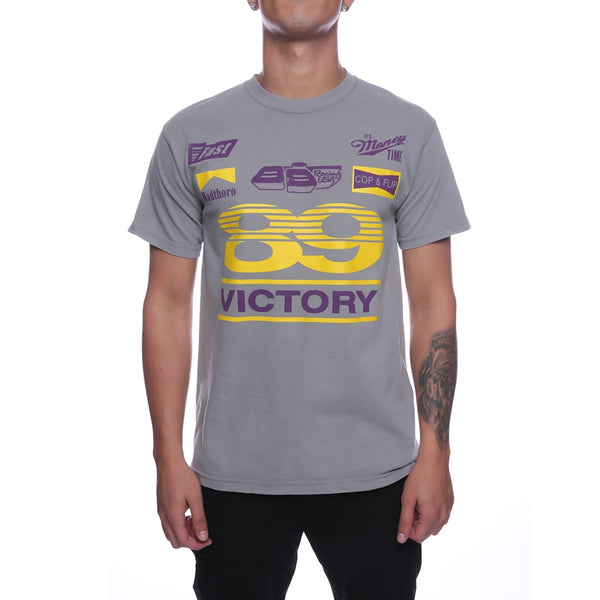 Victory T Shirt Lakers Gray