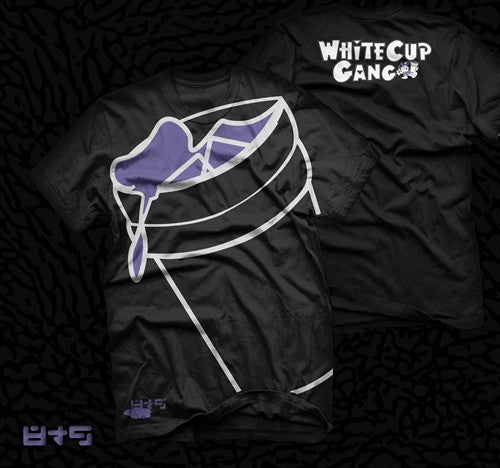 White Cup Gang T Shirt Collabo x Short Dawg - 2