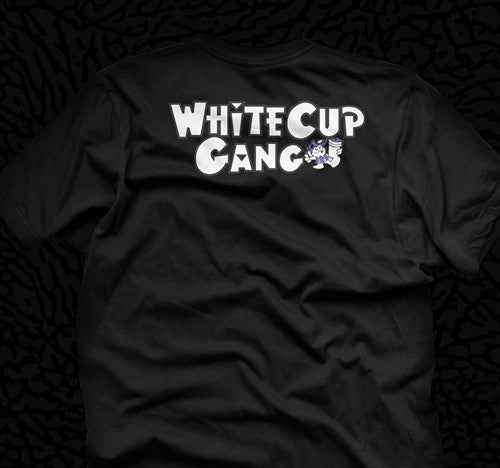 White Cup Gang T Shirt Collabo x Short Dawg - 3