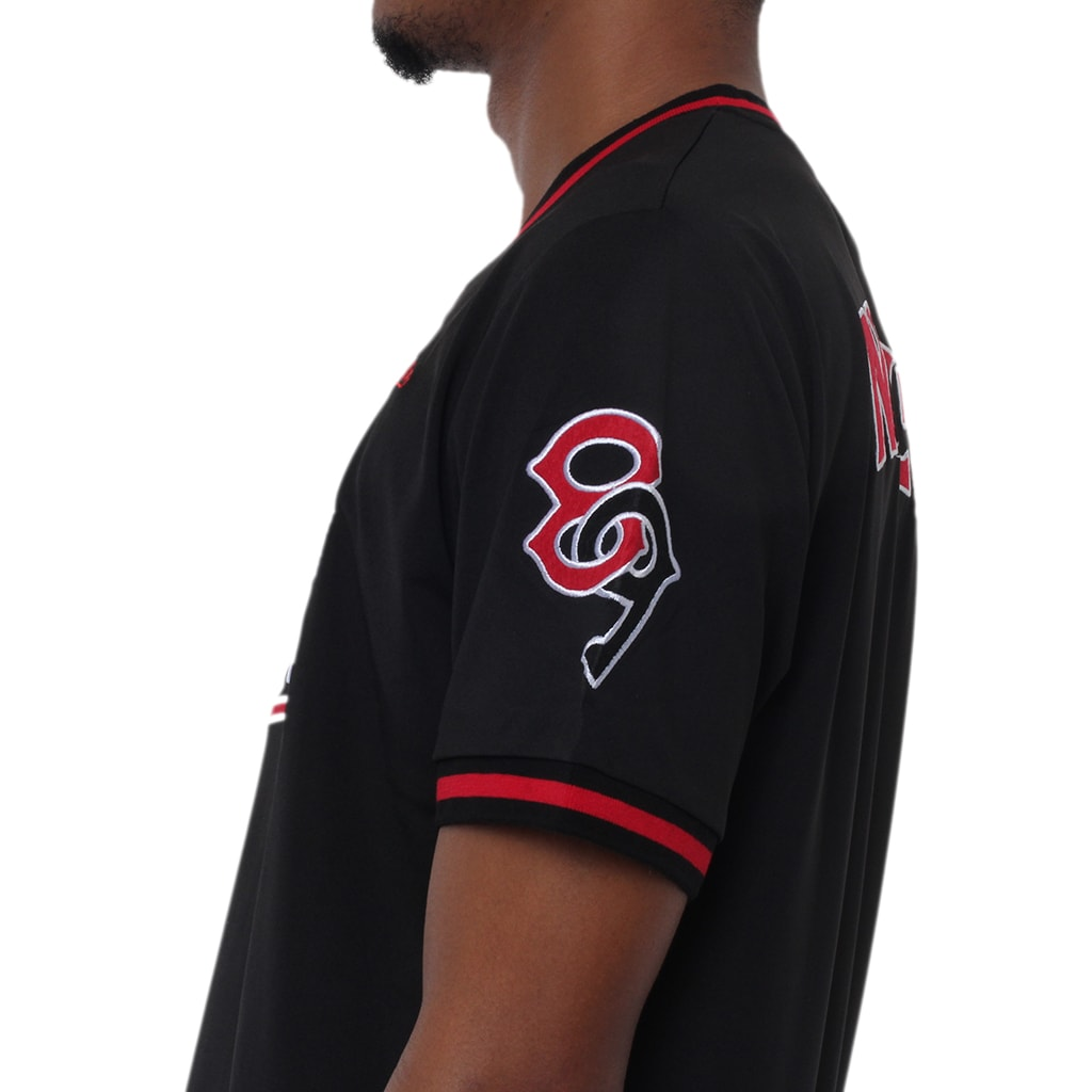 Wins Batting Jersey Black