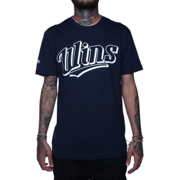 Wins Short Sleeve T Shirt Navy