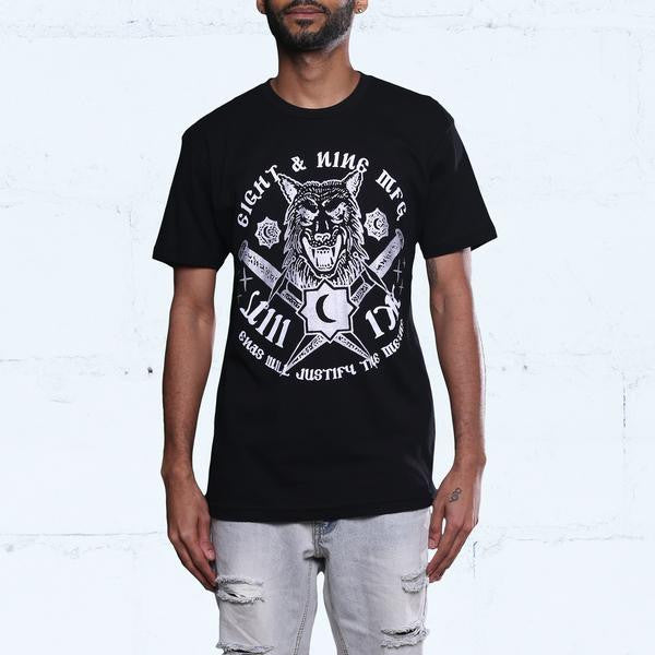 Wolf Pack Black Metallic 5 T Shirt