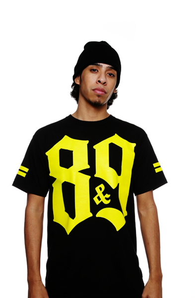Crime Pays Jersey Tee Yellow - 3