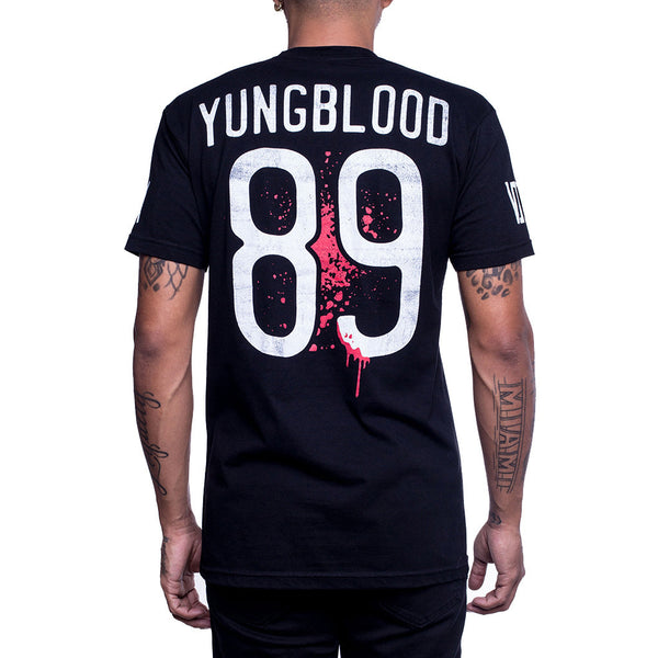 Young Blood Jersey Tee back