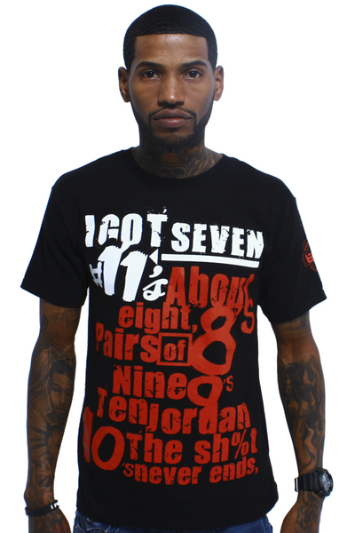 Biggie Freestyle Bred 11 T Shirt - 1