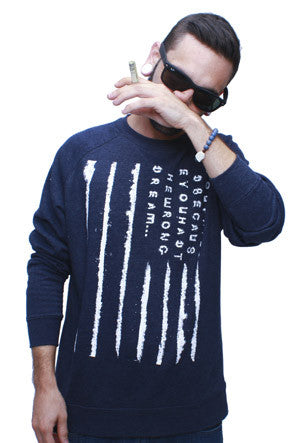 Blow Vintage Denim Crewneck Sweatshirt