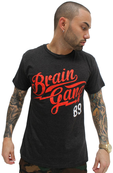 Grey Brain Gang MLB T Shirt - 1
