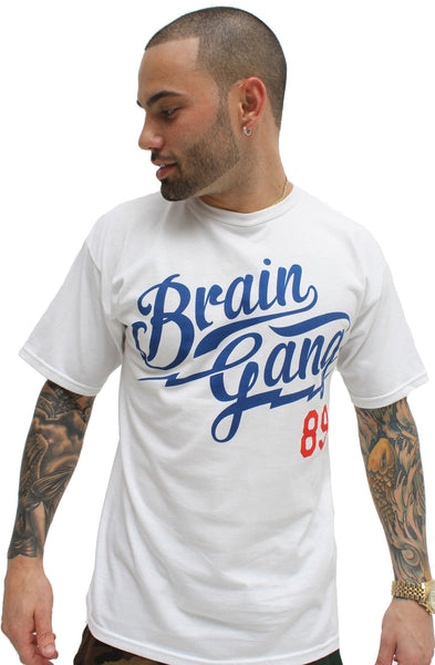 White Brain Gang MLB T Shirt - 1