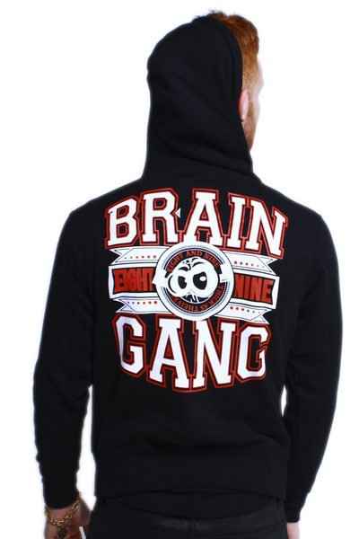 Bred Brain Gang Zip Up Sweatshirt - 1
