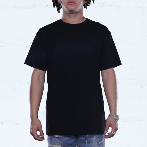 3 Pack Black Tees