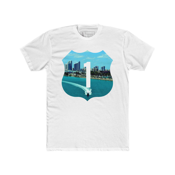 Speed Boat T-Shirt White Quickstrike