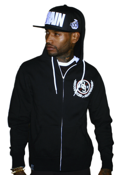 Trenches Bred Hooded Zip Up Sweatshirt - 2