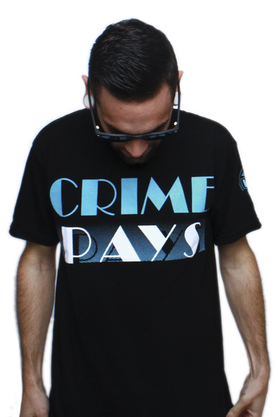 Crime Pays Carolina T Shirt - 1