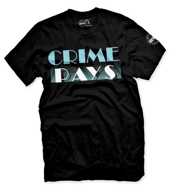 Crime Pays Carolina T Shirt - 2