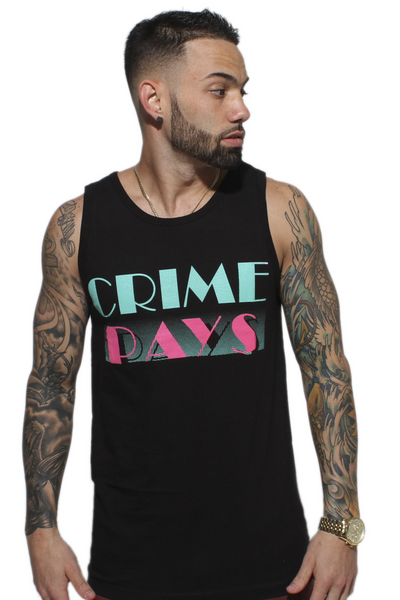 Crime Pays South Beach Tank Top