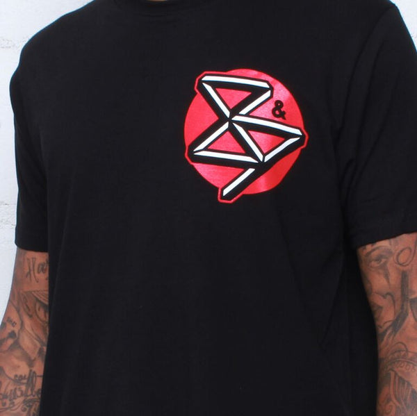curved hem close up streetwear tee