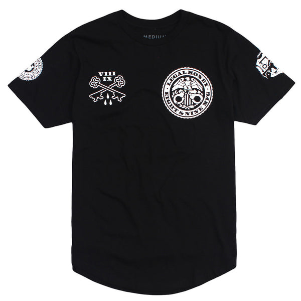 curved hem legal money streetwear t shirt (4)