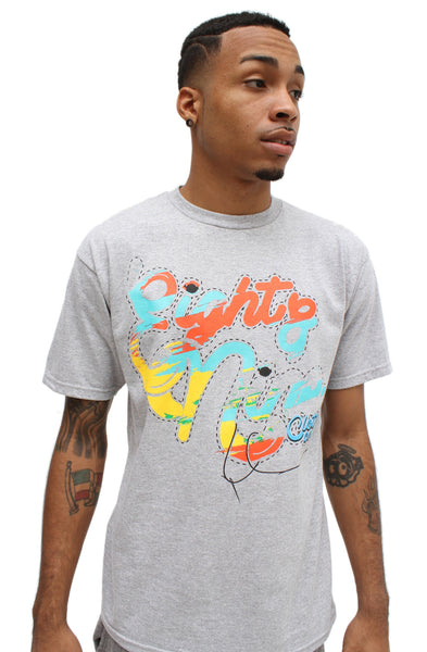 Kobe Venice Beach Pattern T Shirt - 1