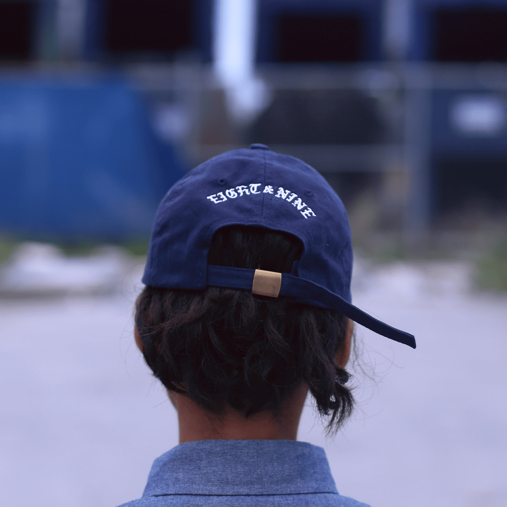 Dad Hat Unstructured Baseball Cap Triple Beam