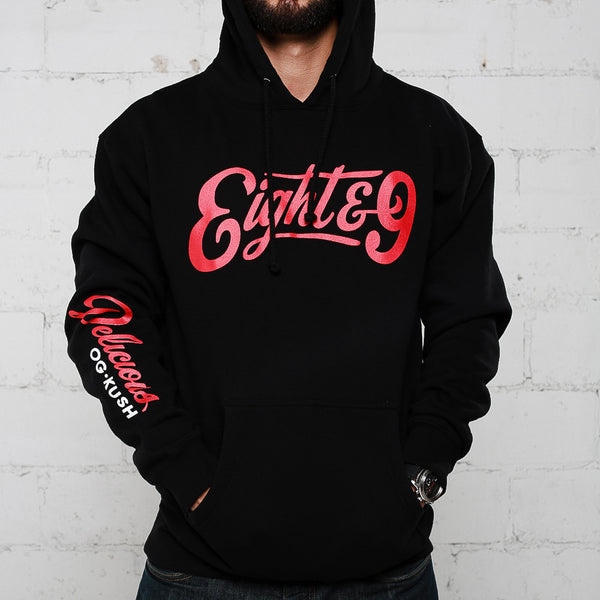 Delicious Hooded Sweatshirt Bred