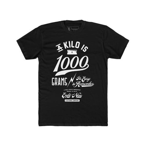 Thousand Grams T-Shirt Black Quickstrike