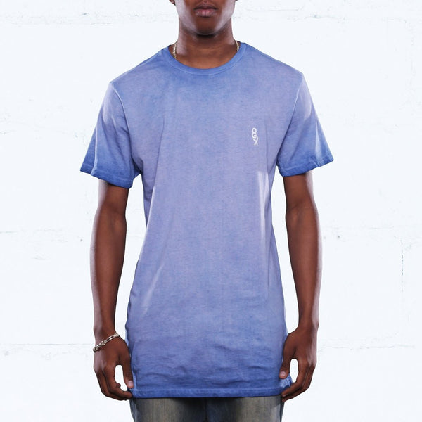 french blue antique wash long line tee jordan match front