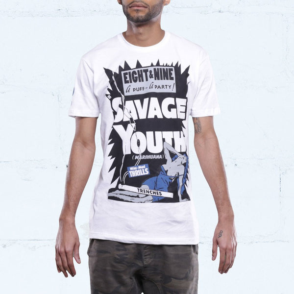 French Blue Savage Shirt