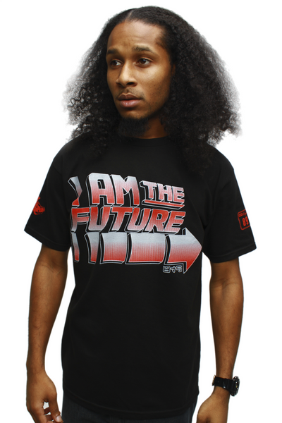 I Am The Future Black Cement T Shirt - 1