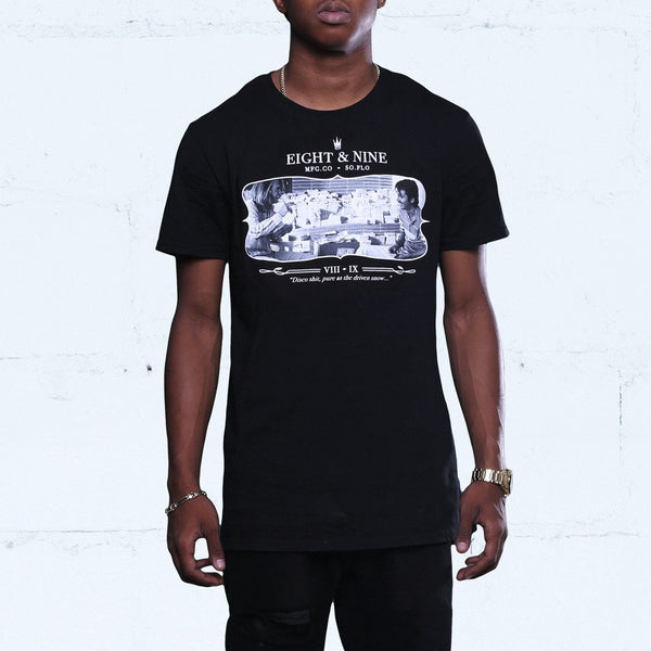 George x Diego Blow T Shirt Black