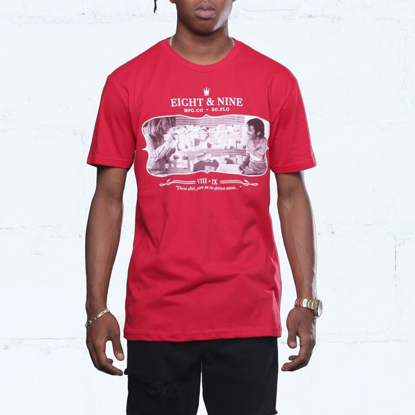 george x diego blow shirt red front