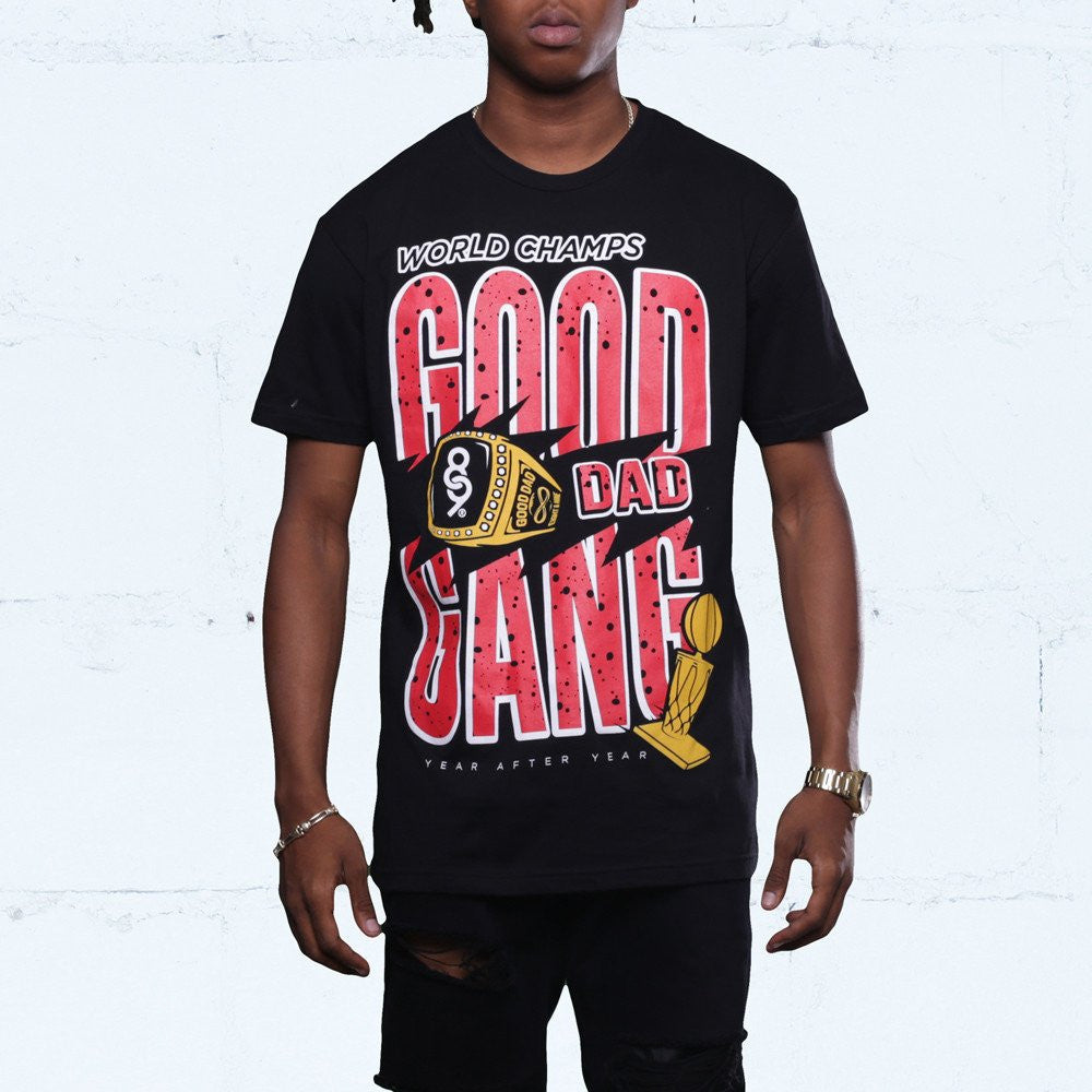 good dad gang jordan flu game 12 shirt front