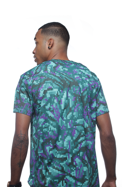 Grape Digi Bud Sublimated Shirt - 2