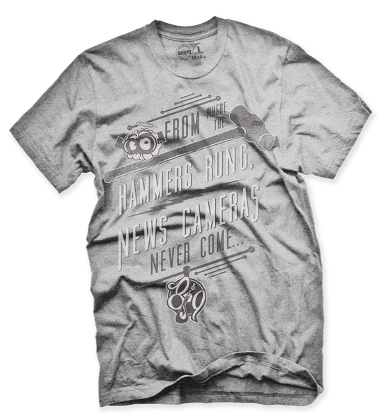 Where I'm From Cool Grey T Shirt - 2