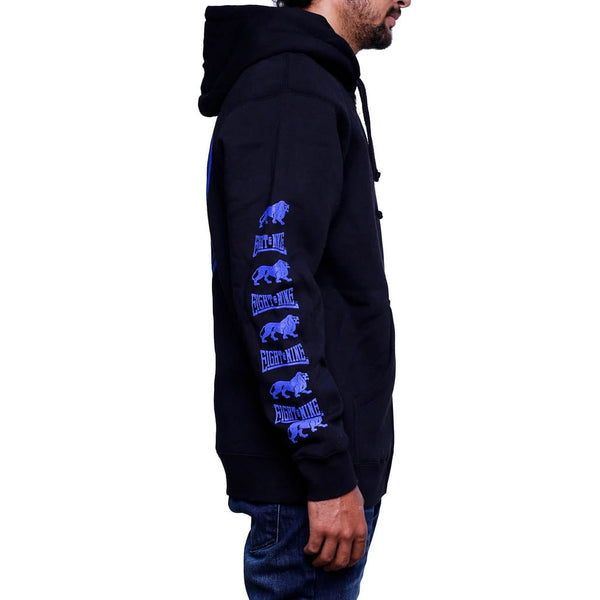 hardbody zip up hoodie black (1)