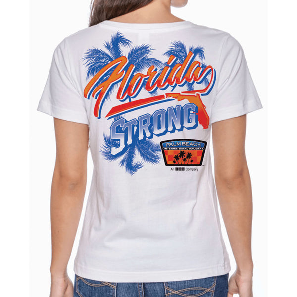 Palm Beach International Raceway Florida Strong Hurricane Relief Women's T Shirt