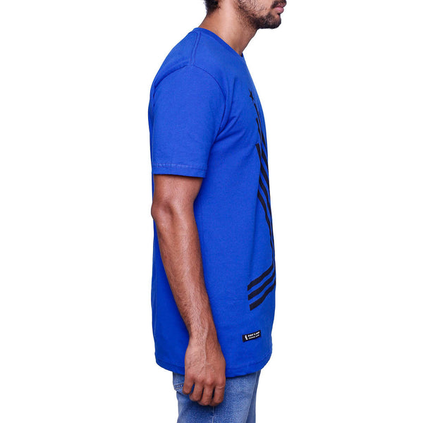 Hyper Cobalt Blue Foamposite Olympic Shirt